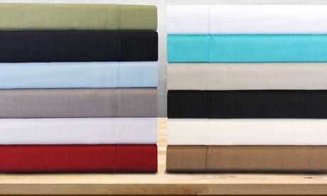 Superior 100% Long-Staple Combed Cotton Duvet Cover Set
