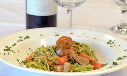 $29 for a Three-Course Italian Dinner for Two at Piazzetta Trattoria (Up to a $65.50 Value)