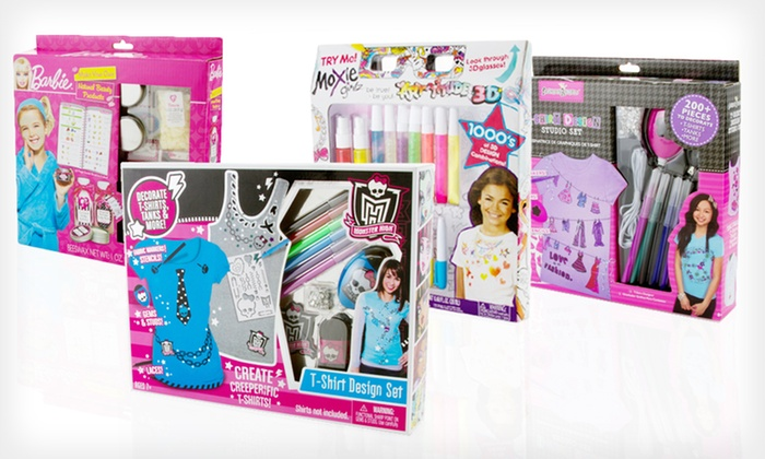 Fashion, Art, and Beauty Product Sets: Girls' Fashion, Art, and Beauty Product Sets (Up to 58% Off). Four Options Available. Free Returns.