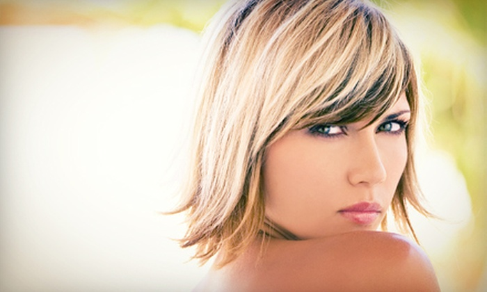 Jaime Michel at Hair It Is Suite 117 - Southeast Arlington: Haircut and Style with Optional Color or Partial Highlights from Jaime Michel at Hair It Is Suite 117 (Up to 54% Off)