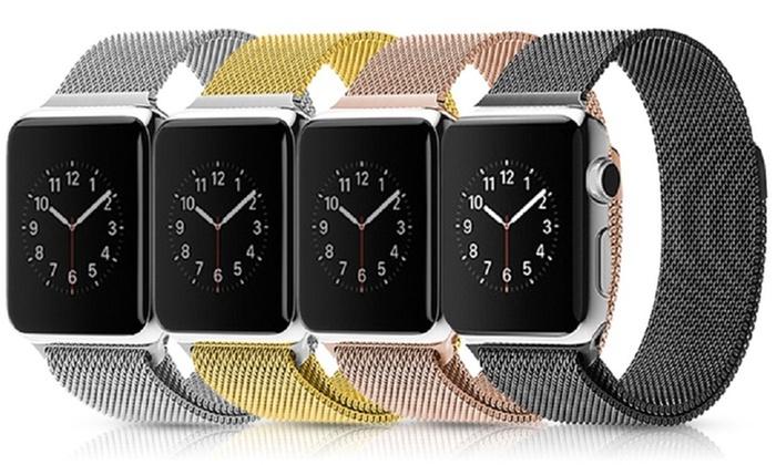 Waloo Milanese Loop Stainless Steel Apple Watch Band: Waloo Milanese Loop Stainless Steel Apple Watch Band
