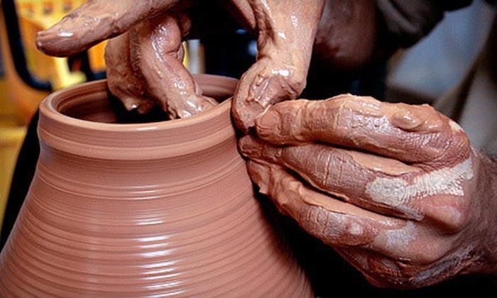 Not Made in China Pottery Studio - Albuquerque: $20 for a Clay Date for Two at Not Made in China Pottery Studio ($60 Value)