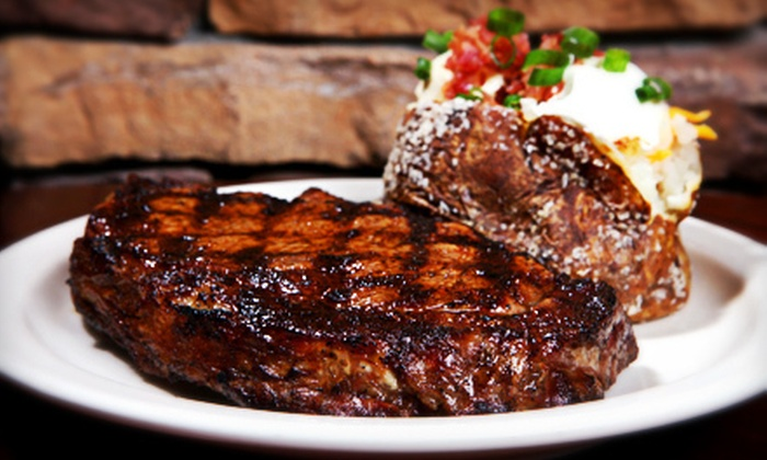 Santa Fe Cattle - Multiple Locations: $10 for $20 Worth of Steaks, Ribs, and Fajitas with Southwestern Flair at Santa Fe Cattle
