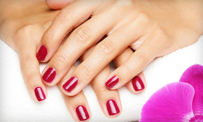 Body Essence - Delaware: Shellac Manicure or Two Shellac Manicures with Paraffin Treatments at Body Essence in Delaware (Up to 61% Off)