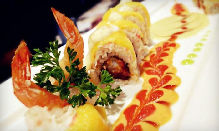 Hana Steak Seafood & Sushi - Springlake, University Terrace: $10 for $20 Worth of Lunch at Hana Steak Seafood & Sushi