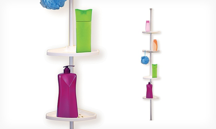 $21.99 For A Home Collections 4 Tier Corner Shower Caddy