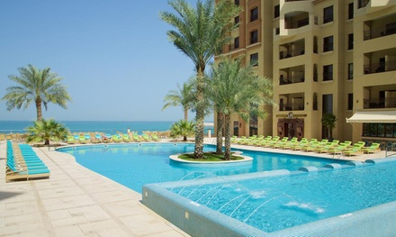 Ras Al Khaimah: 1 Ramadan Night for Up to Four with Half Board at 5* Marjan Island Resort & Spa By AccorHotels