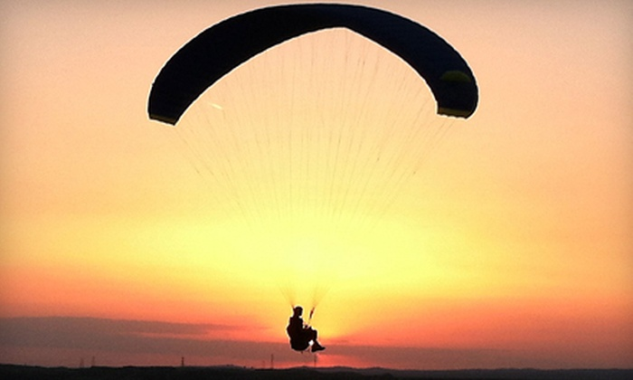 Just Fly Paragliding - Bakersfield: Tandem Paragliding Flight for One or Two from Just Fly Paragliding (Up 65% Off)