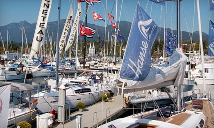 The 6th Annual Boat Show at the Creek - North Vancouver: Two or Four One-Day Passes or Two Four-Day Passes to The 6th Annual Boat Show at the Creek (Up to 54% Off)