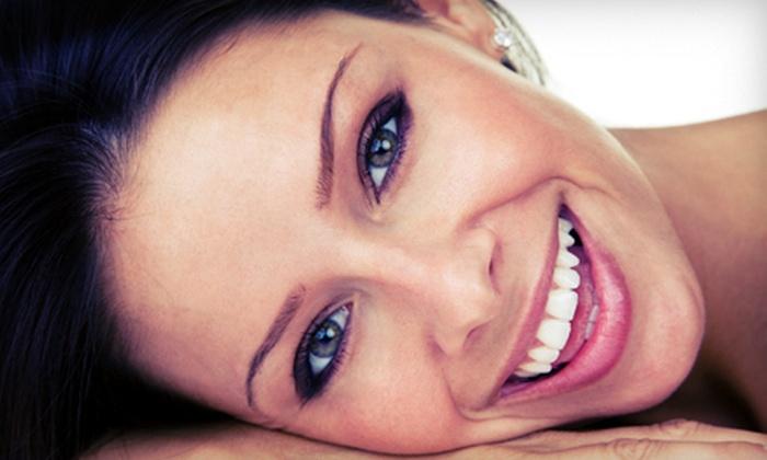 Aqua Facial Studio - Mount Pleasant: Aqua Facial with Brow Wax or Fire and Ice Facial with Brow Wax at Aqua Facial Studio (Up to 54% Off)