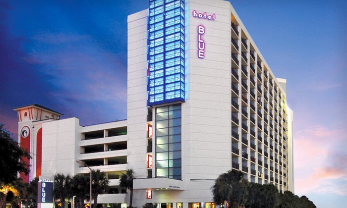 Hotel Blue - Myrtle Beach, SC: Stay at Hotel Blue in Myrtle Beach, SC, with Dates into June