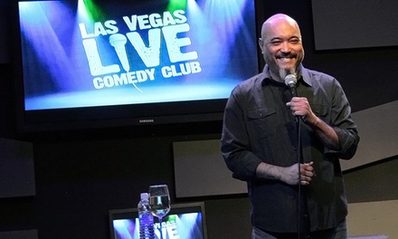 Las Vegas Live Comedy Club at V Theater (Up to 71% Off)