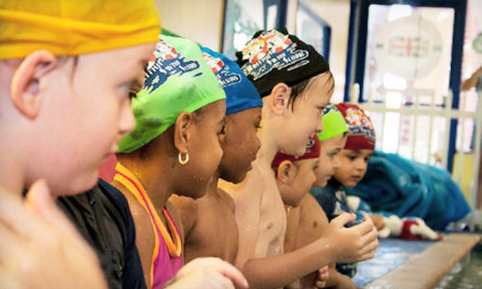 British Swim School - Multiple Locations: $79 for Eight Lessons with Registration and Swim Cap at British Swim School ($207 Value)