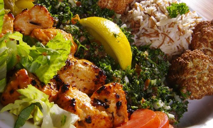 Qariah Lebanese Restaurant and Lounge - Lowest Greenville: Lebanese Dinner and Hookah at Qariah Lebanese Restaurant and Lounge (50% Off)