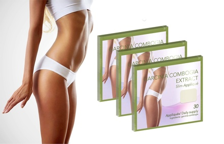 30-Pack of Garcinia Cambogia Extract Slimming Patches