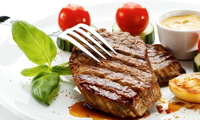 Santa Fe Cattle Co - Multiple Locations: $12 for $20 Worth of Steakhouse Cuisine at Santa Fe Cattle Co