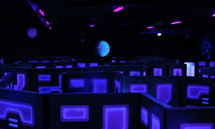 Two Games of Laser Tag or All-Night Laser Tag for Two or Four at The Fun Warehouse (50% Off)
