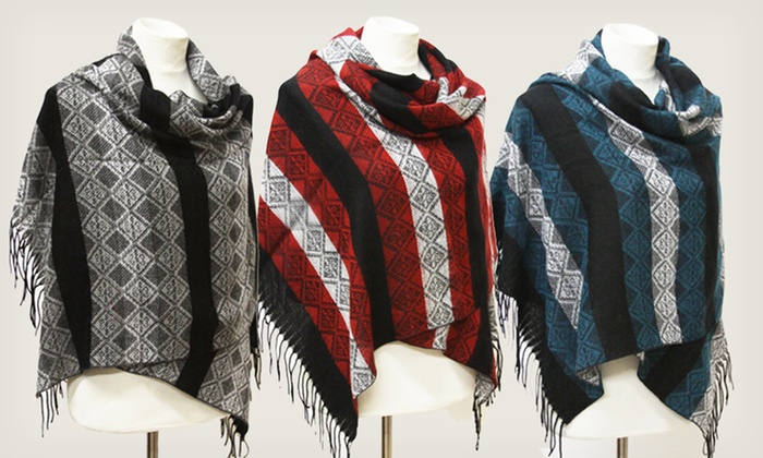 Tribal-Print Winter Scarves: $11.99 for Tribal-Print Winter Scarves ($29.99 List Price). Multiple Colors Available. Free Returns.