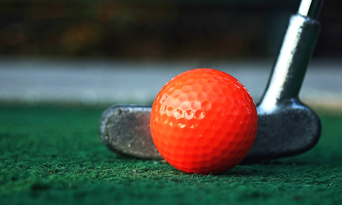 Putt Putt Golf and Games - Del Norte: Putt-Putt Golf for Two, or Putt-Putt Golf and Arcade Games for Two or Four (Up to 55% Off)