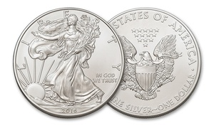Pure Silver American Eagle Dollar Coin