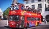 Starline Tours Hollywood - Multiple Locations: 24-Hour Hop-On, Hop-Off Bus Tour for One, Two, or Four from Starline Tours (Up to 55% Off)