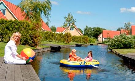 IJsslmeer: 4 oder 5 Tage für 4 oder 6 Personen in der Ferienvilla des Villavakantieparks IJsselhof in den Niederlanden