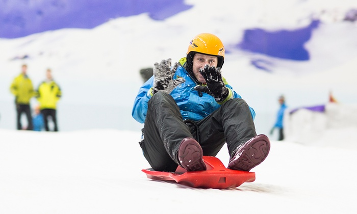 Chill Factore - Chill Factore: One-Hour Snowpark Pass for One or Two at Chill Factore (Up to 52% Off)