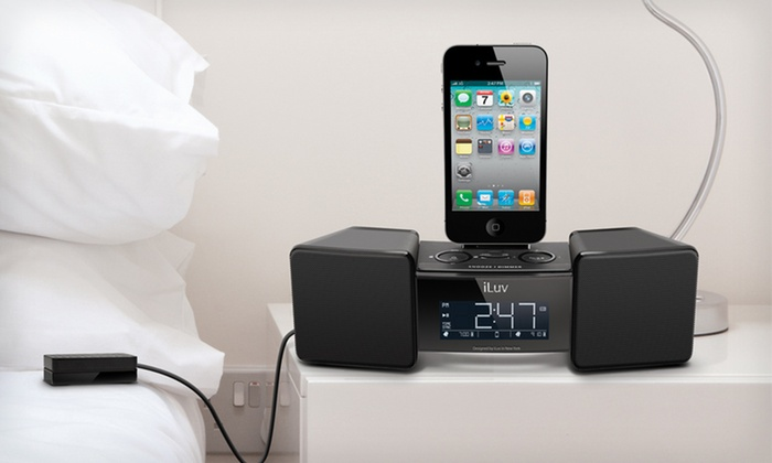 iLuv Alarm Clock with Bed Shaker: $26.99 for an iLuv Vibro II Dual-Alarm Clock with Bed Shaker for iPhone and iPod ($69.99 List Price). Free Shipping.