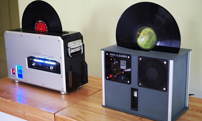 Record Genie - Multiple Locations: Ultrasonic Vinyl-Record Cleaning for Four or Six Records at Record Genie (Up to 52% Off)