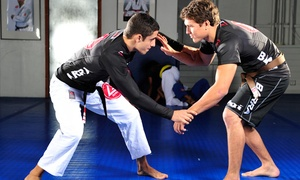 Gracie Barra: Five Jiu Jitsu & Self Defense Classes for One or One Month of Unlimited Classes at Gracie Barra (Up to 86% Off)