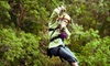 Kentucky Shores Family Fun Center: Season: 5/1 - 10/1, 2018: New Ownership - Ringgold: Zipline Adventure for One or Two at Kentucky Shores Family Fun Center in Gilbertsville (Up to 55% Off)