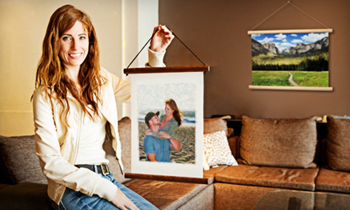 Print My Watercolor: Custom-Watercolor Printing from Print My Watercolor (Up to 75% Off). Two Options Available.