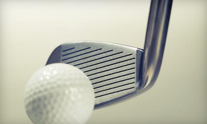Stony Creek Golf Course - Oak Lawn: Simulated Golf for Two or Four at Stony Creek Golf Course (Up to 51% Off)