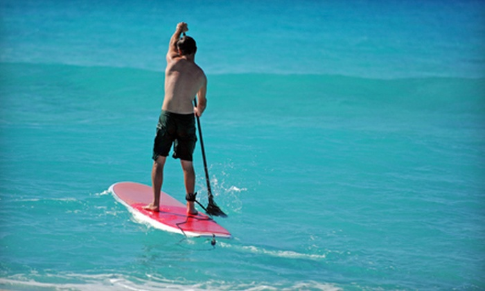 Fun Unlimited - West Lealman: One-Hour Paddleboard Rental for One, Two, or Four at Fun Unlimited (Up to 64% Off)