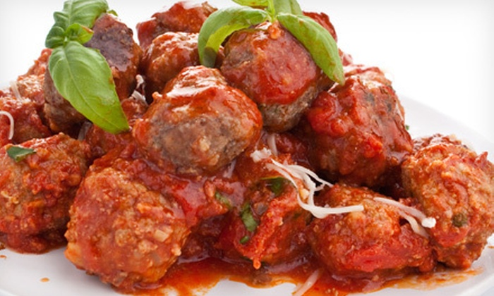 Meatballs on Main - Cornelius: $10 for $20 Worth of Meatballs and Comfort Cuisine for Two at Meatballs on Main