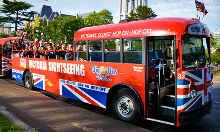 Big Bus Victoria - Big Bus Victoria: One- or Two-Day Hop-On Hop-Off Sightseeing Tour of Victoria for Two or Four from Big Bus Victoria (Up to 53% Off)