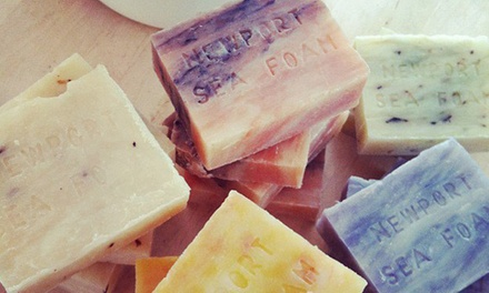 BYOB Soap-Making Class for One or Two or Party for Up to 10 Kids at Newport Sea Foam Trading LLC (Up to 45% Off)