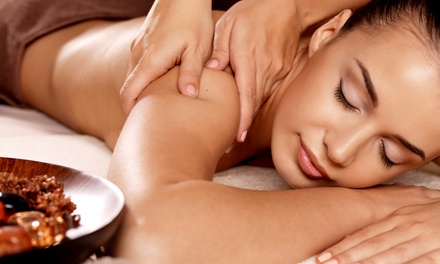 Swedish Massage, Custom Facial With a Deep Cleanse and Peel, or Both at Serenity Massage & Spa (Up to 52% Off)