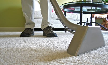 image for $161 for Carpet Cleaning for Five Rooms at American Carpet Masters ($350 Value)