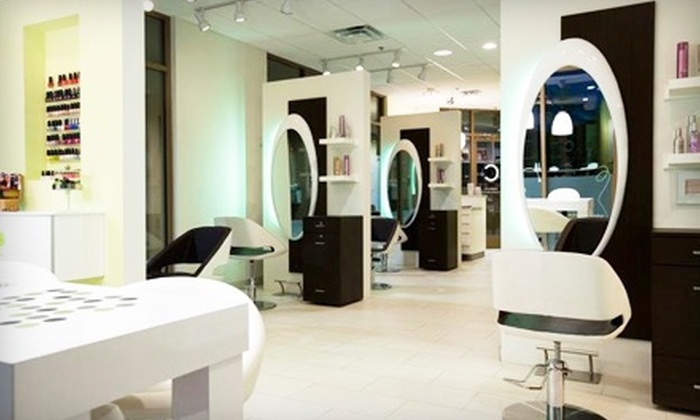 Studio C Hair Salon a Beauty Lounge - Carefree Arizona: One or Three Blowouts and Powerdose Deep-Conditioning Treatments at Studio C Hair Salon a Beauty Lounge (Up to 79% Off)