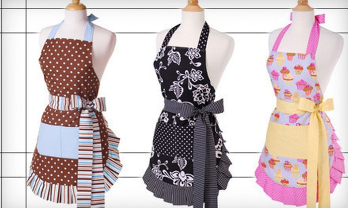 Flirty Aprons: C$15 for US$30 Worth of Aprons, Bibs, and Kitchen Gloves from Flirty Aprons