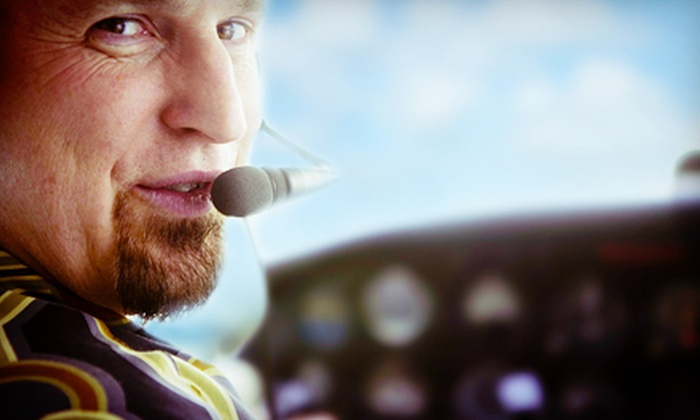 J.D. Wall Air - Cedar Grove: 45-Minute Airplane Tour for Two or a 60-Minute Introductory Flying Lesson from J.D. Wall Air (Up to 56% Off)