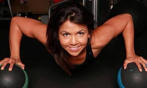 Evelyn: Five Personal Training Sessions with Diet and Weight-Loss Consultation from Evelyn (65% Off)