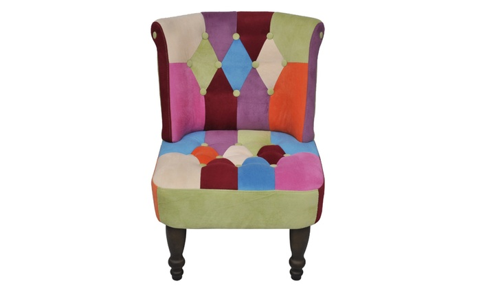 Lot de 2 fauteuils Patchwork Vacuit | Groupon
