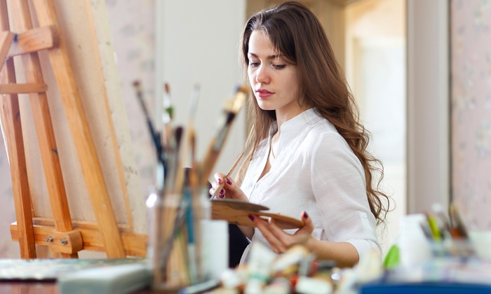 Dianna's Loft - Scarborough City Centre: Adult Painting Party for Six or Eight at Dianna's Loft (Up to 60% Off)