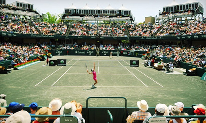 Family Circle Cup - Volvo Car Stadium: Two Tickets to Family Circle Cup Women's Tennis Tournament at Family Circle Magazine Stadium. Five Options Available.