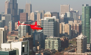Chicago Helicopter Express: Helicopter Tour of Chicago for Two or Four from Chicago Helicopter Express (Up to 51% Off)