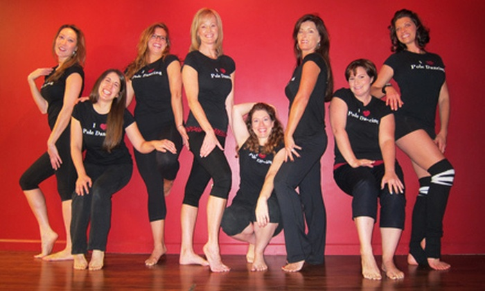 Aradia Fitness - Multiple Locations: Teaser Pole-Dancing Class for One or Two at Aradia Fitness (Up to 55% Off)