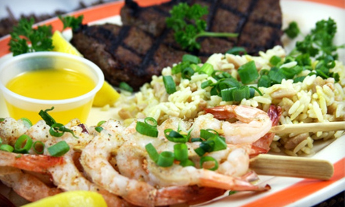 Dessy B's Steakhouse - Paradise: Steaks, Burgers, and Seafood for Two or Four at Dessy B's Steakhouse (Half Off)