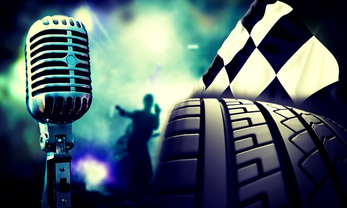 Racing Rocks - Rockingham Speedway: Racing Rocks: Day (£25) or Weekend (£41) Entry at Rockingham (Up to 41% Off)